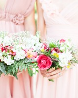 Garden Inspired Bridesmaids Bouquets