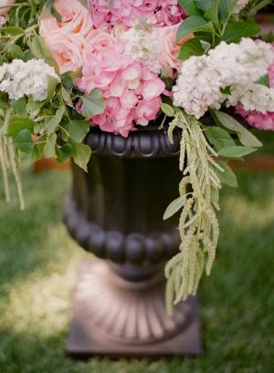 Garden Inspired Ceremony Decor