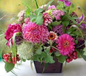 Garden Picked Wedding Flowers1