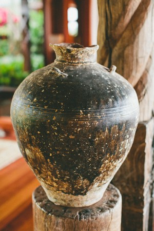 Hawaiian Clay Vase