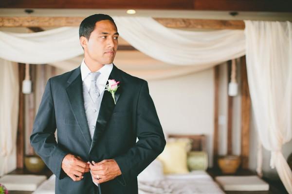 Hawaiian Wedding Inspiration Classic Groom