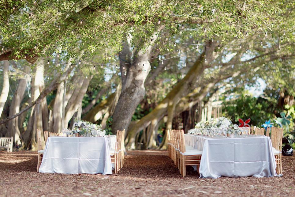Magical Forest Wedding Reception