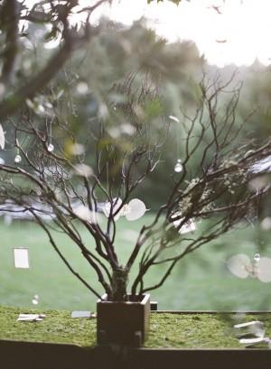 Manzanita Branch Wedding Decor