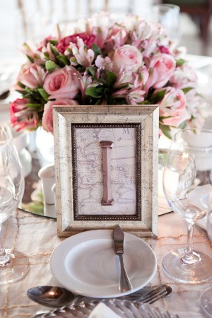 Map Table Numbers