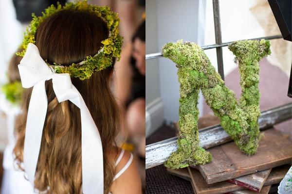 Moss Wedding Ceremony Details