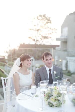 Naturally Chic Beachfront Wedding by Joielala 1