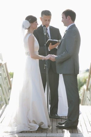 Naturally Chic Beachfront Wedding by Joielala 2