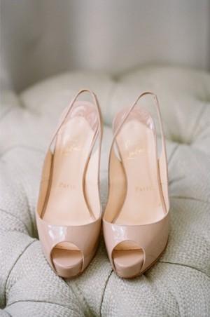 Nude Christian Louboutin Shoes