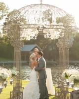 Opulent Wedding Ceremony Arch
