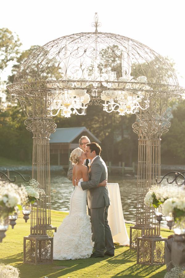 Opulent Wedding Ceremony Arch