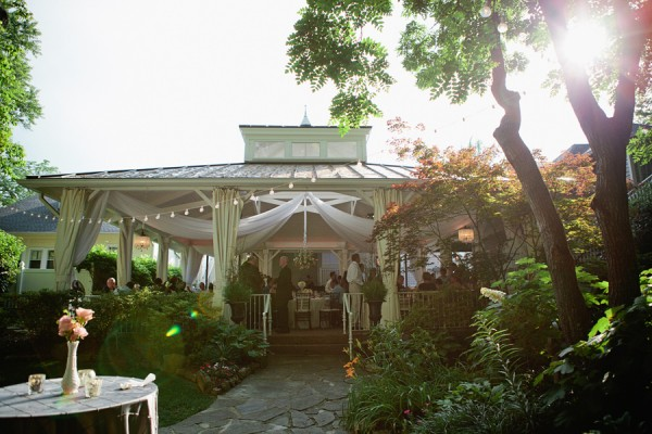 Outdoor Gazebo Wedding Reception