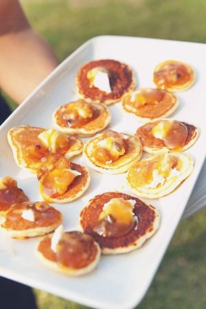 Pancakes for Wedding Food