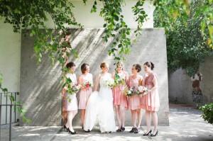 Pink Bridesmaids Dresses1