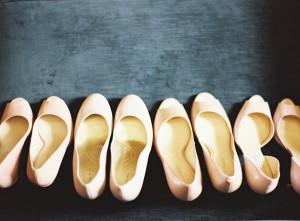 Pink Bridesmaids Shoes