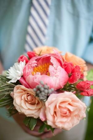 Pink Peony Bouquet 2