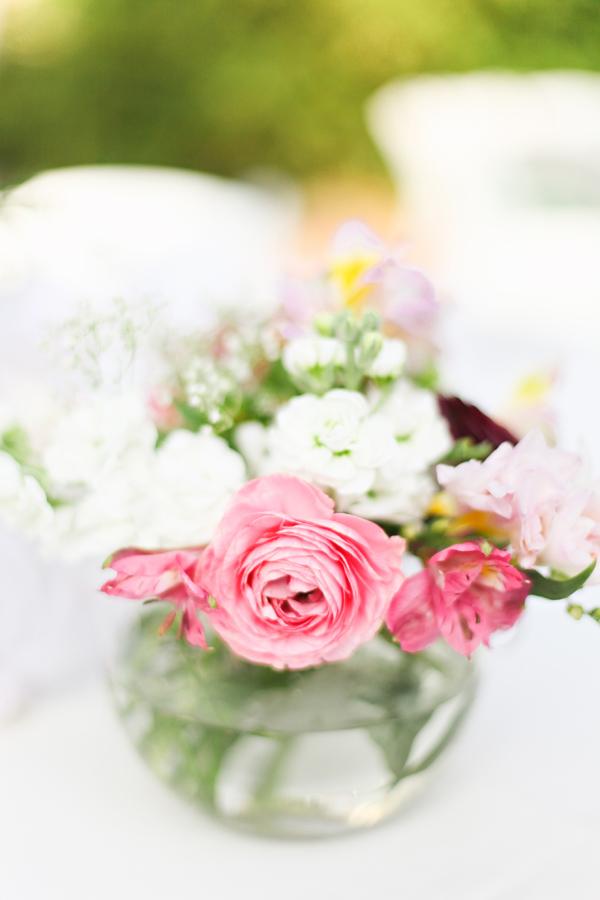 Pink and White Flower Centerpiece - Elizabeth Anne Designs: The ...