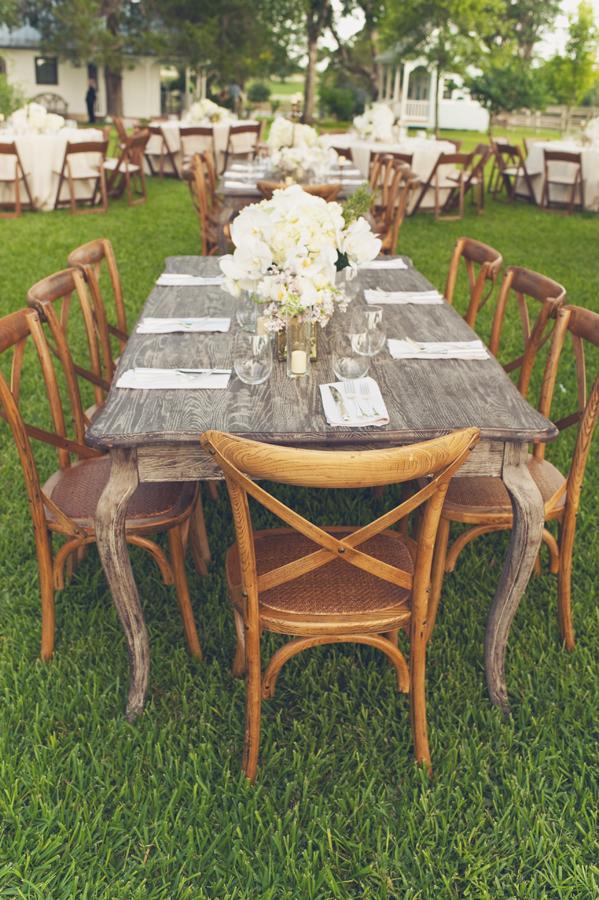 Pretty rustic wood wedding table elizabeth anne designs