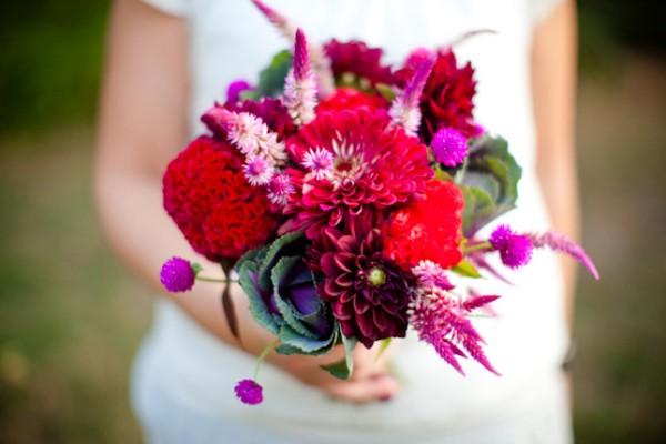 Red Garden Bouquet