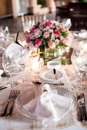 Romantic Elegant Wedding Place Setting