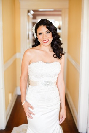 Romantic Old Hollywood Wedding by Candice Benjamin Photography 3