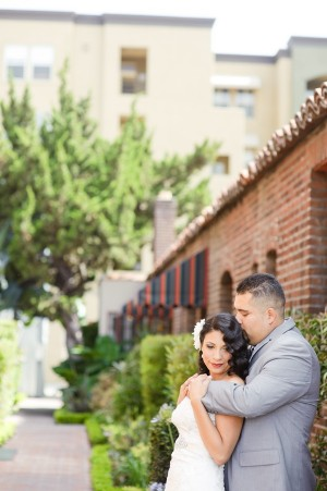 Romantic Old Hollywood Wedding by Candice Benjamin Photography 8