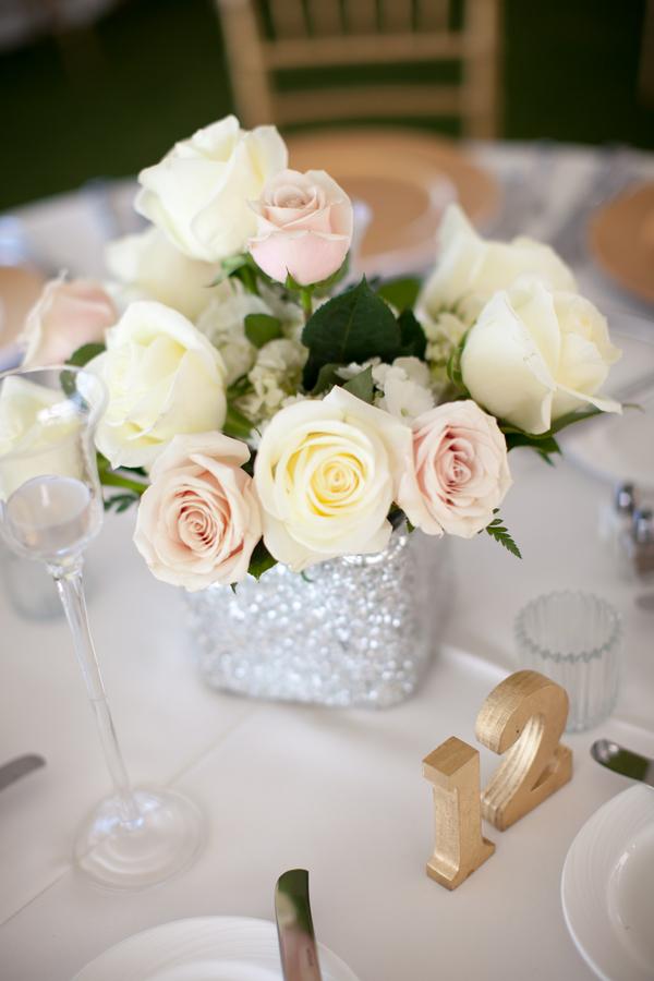 Rose Wedding Centerpiece Elizabeth Anne Designs The Wedding Blog