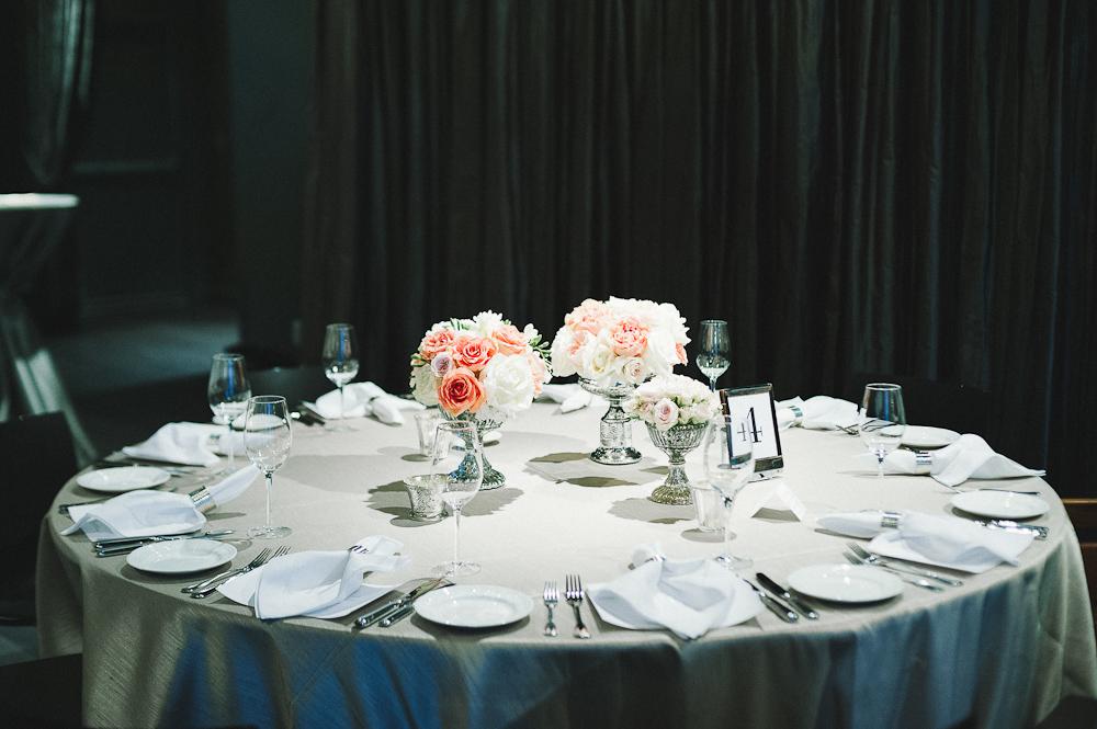 Round Table Wedding Centerpieces Elizabeth Anne Designs The