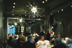 Sepia Chicago Wedding Reception