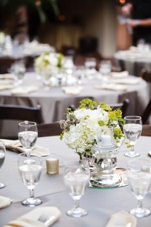 Silver Green Wedding Reception