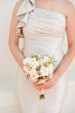 Small Ivory Bridesmaids Bouquet