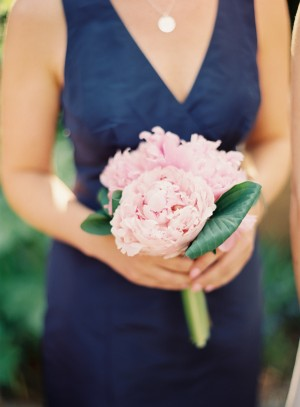 Small Pink Peony Bouquet