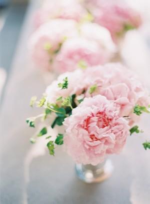 Small Pink Wedding Centerpiece Ideas