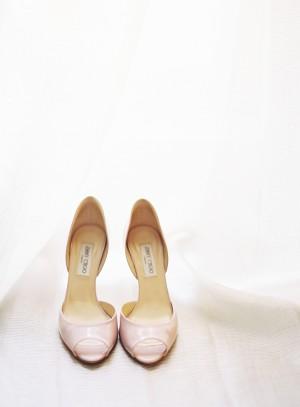 Soft Pink Bridal Shoes
