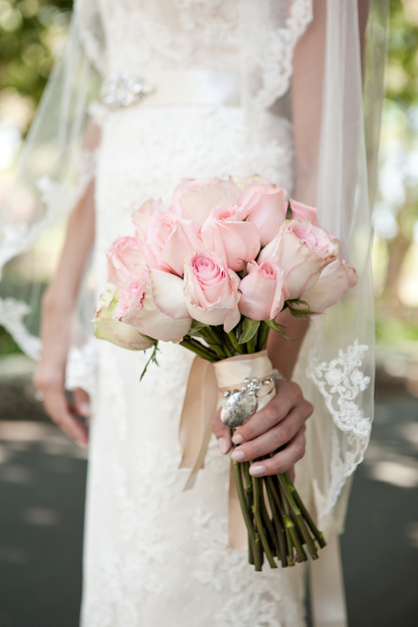 Soft Pink Rose Wedding Bouquet - Elizabeth Anne Designs: The Wedding ...