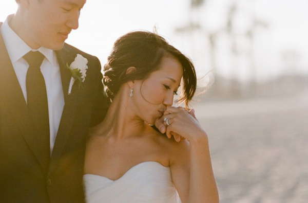 Sophisticated Black and White Wedding by Erin Hearts Court 1