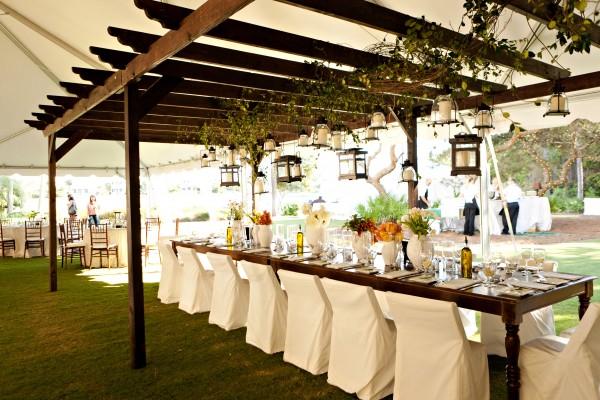 Tuscan Inspired Wedding Reception