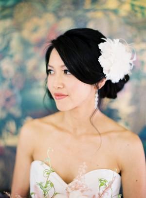 Twigs and Honey Wedding Headpiece
