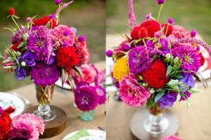 Vibrant Farmers Market Flowers