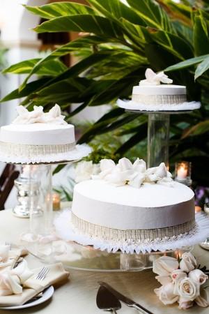 Vintage Elegant Wedding Cakes