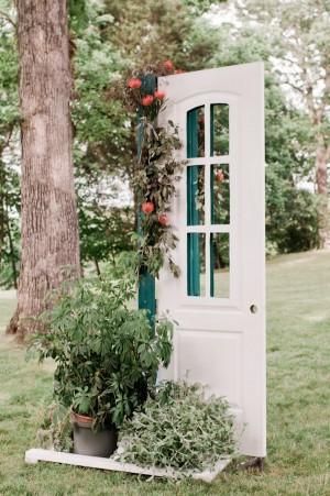 Vintage and Organic Wedding Decor