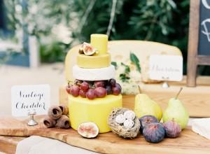 Wedding Cheese Table