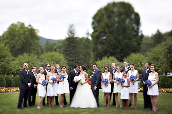 White Bridal Party
