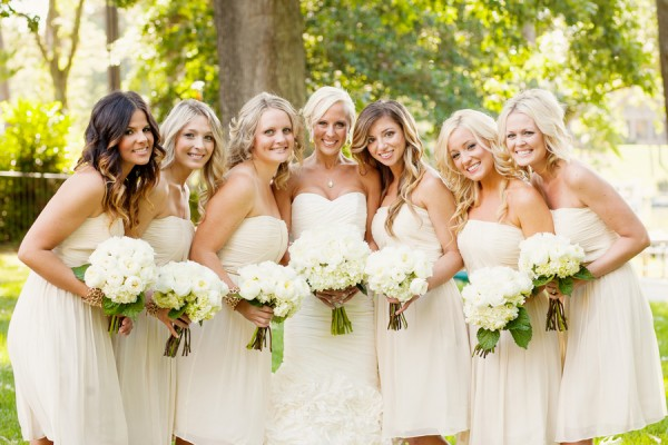 White Bridesmaids Dresses1