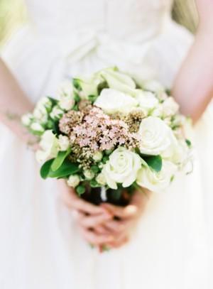 White Rose Wedding Bouquet1