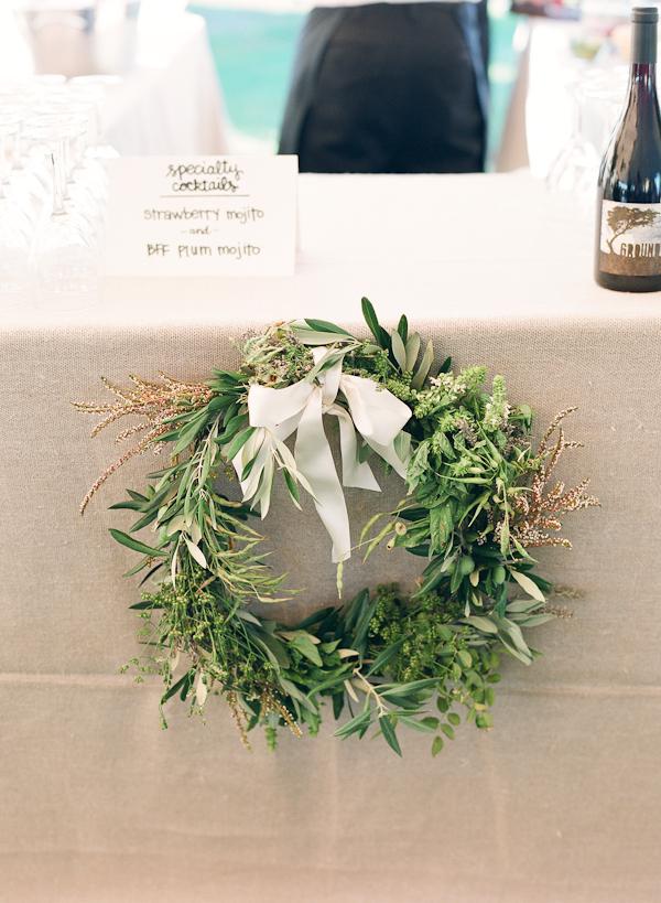 Wreath Wedding Decoration