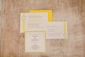 Yellow Country Wedding Invitations