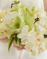 Amaryllis and Phalaenopsis Orchid Bouquet