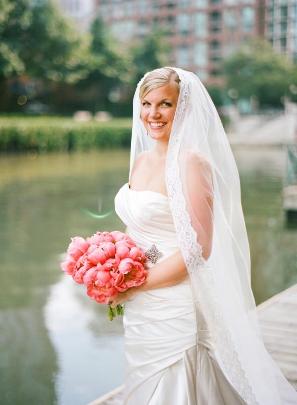 Chicago Waterfront Bridal Portrait