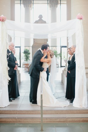 Classic White And Pink Wedding Clary Photo 2