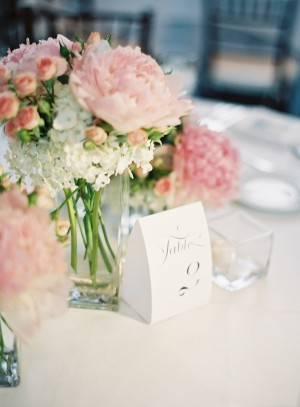 Classic White And Pink Wedding Clary Photo 3